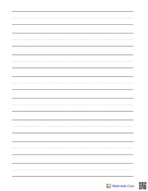 free printable writing paper second grade 8 best images of for 3rd grade printable lined paper 3rd