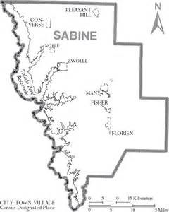 sabine river map file map of sabine parish louisiana with municipal labels