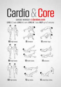 machine based workout routine cardio darebee workout exercises