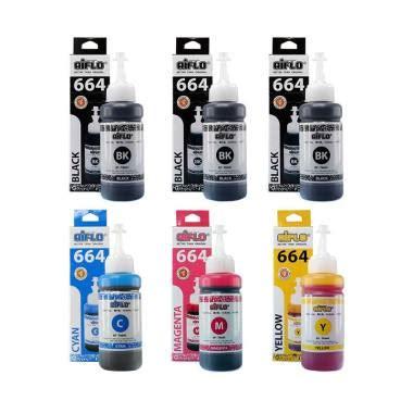 Tinta Printer Aiflo Untuk Epson L Series 664 Magenta jual tinta epson 664 terbaru harga diskon original