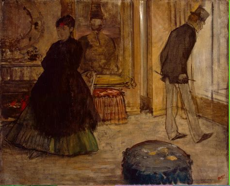 Degas Interior by Degas Edgar Interior With Two Figures Painting Reproduction On Artclon For Sale Buy