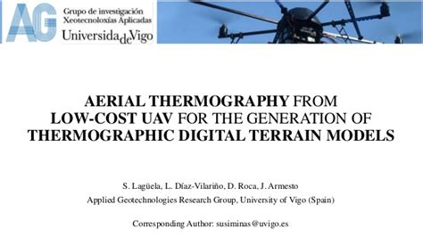 aerials testo s laguela aerial thermography from low cost uav for the
