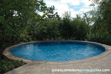 sunken  ground pool   home pinterest