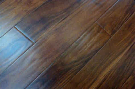 acacia engineered handscrapped wood flooring china