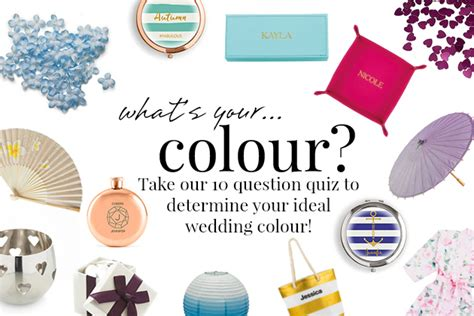 what s your color quiz quiz what s your wedding colour confetti co uk