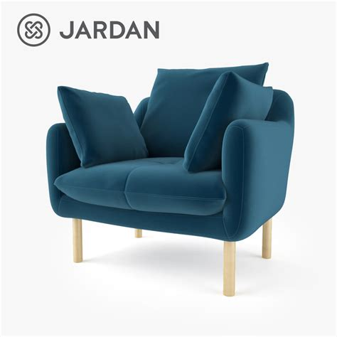 jardan armchair 3d fbx jardan andy and