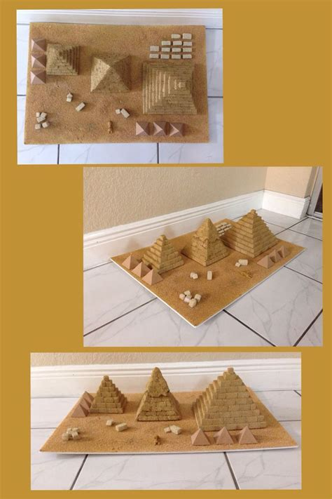 pyramid craft project pyramids of school project thema egypte kleuters