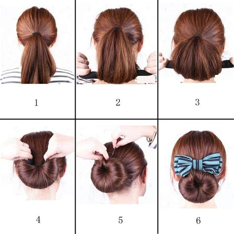 donut hairstyles 17 best images about shells donut doughnut ring on