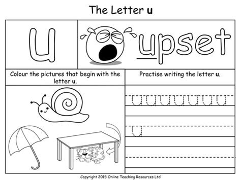 Letter U Worksheets For Pre K by 1000 Images About Homeschool Math On Easy