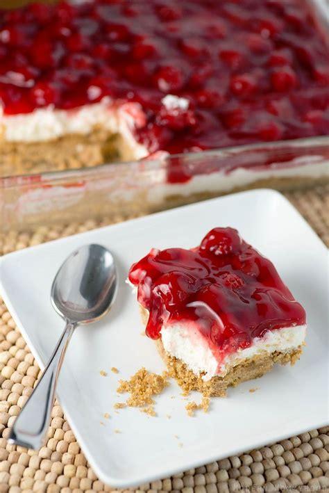 cheese cake cherry cherries jubilee cheesecake bars
