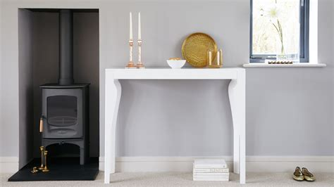 modern white console table modern white gloss console table styling and storage uk