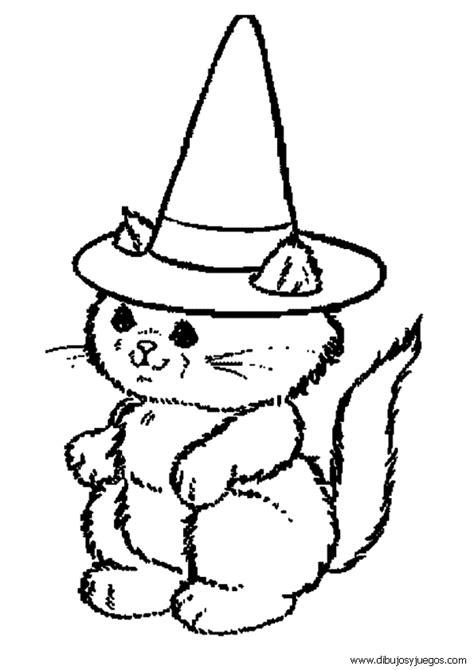 imagenes de juegos para halloween dibujo de halloween gato 008 dibujos y juegos para