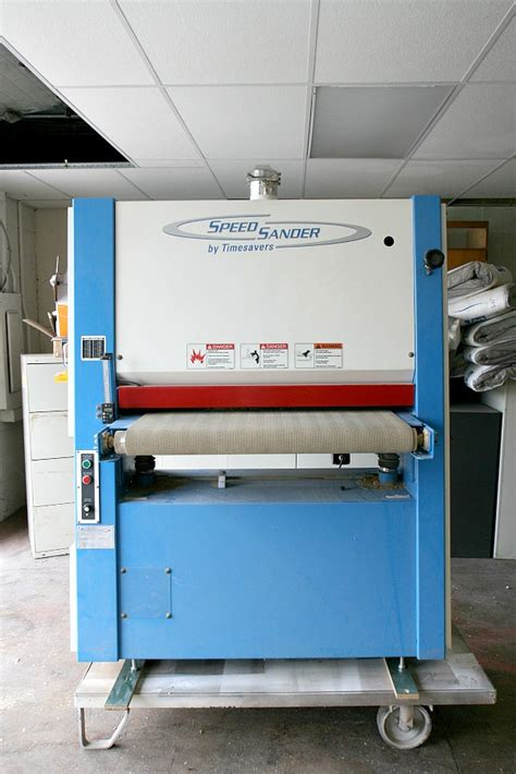 timesaver  wide dry belt sander speed sander