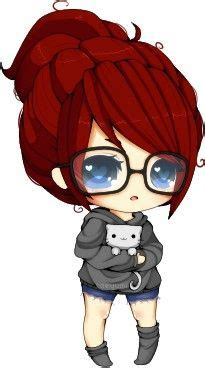 cute anime chibi girl with red hair 25 best ideas about chibi on pinterest kawaii drawings