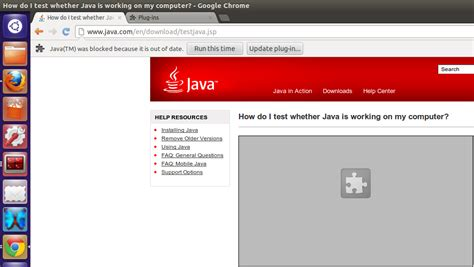 chrome java plugin ubuntu how to update oracle java plugin for google chrome ask