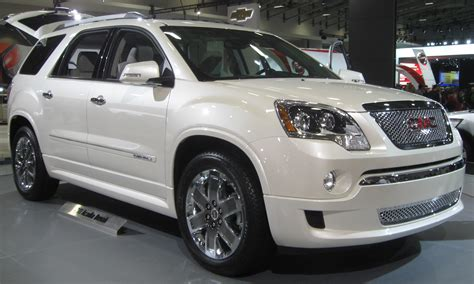 2009 gmc acadia pictures information and specs auto database com