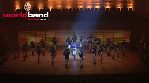 marching band tattoo lucerne marching band on stage 2014 kkl luzern