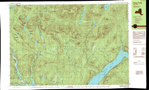 topo map ohmer mountain topographic map ny usgs topo 43074c1