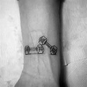 Best Weight Bench Workouts 50 Fitness Tattoos For Men Bodybuilding Design Ideas