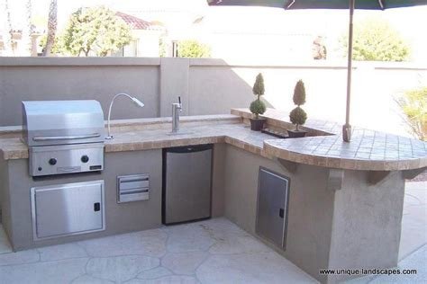 Outdoor Kitchens Bbq Photo Gallery Outdoor Kitchen With Kegerator