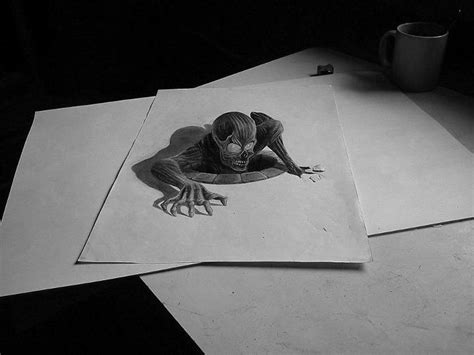 S Drawing 3d by 33 Of The Best 3d Pencil Drawings Bored Panda