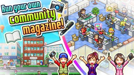 new game kairosoft continues to churn out retro gaming magazine mogul is kairosoft s latest sim for android and