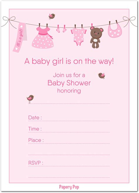 Baby Invitations by Raffle Tickets Baby Shower