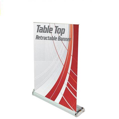 table top poster table top mini banner stand