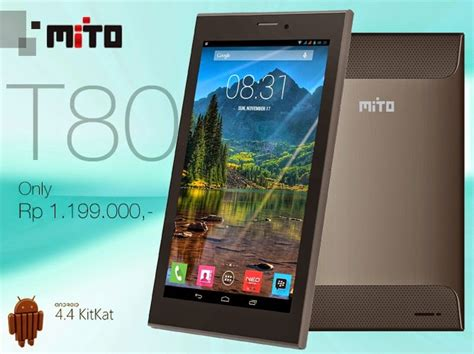 Tablet Mito Android Kitkat Mito T80 Tablet Android Kitkat Harga 1 Jutaan Eraponsel