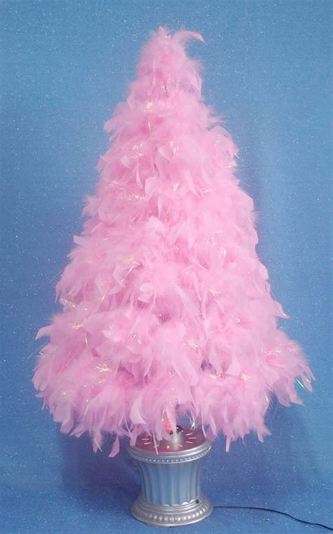 china pink feather optical fibre tree b0904503y225