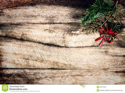 Christmas Decoration As Border With Copyspace On Wooden Old Bac Stock Photo Image Of Objects Vintage Family Frames Tree Stock Image Image 32018791