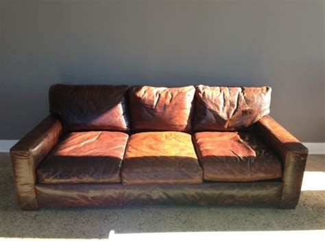 Restoration Hardware Leather Sofa For Sale Pin By Simmy Pappachen On Sofas Pinterest