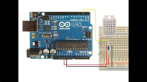 code arduino dht22 arduino using a dht22 temperature and humidity sensor doovi