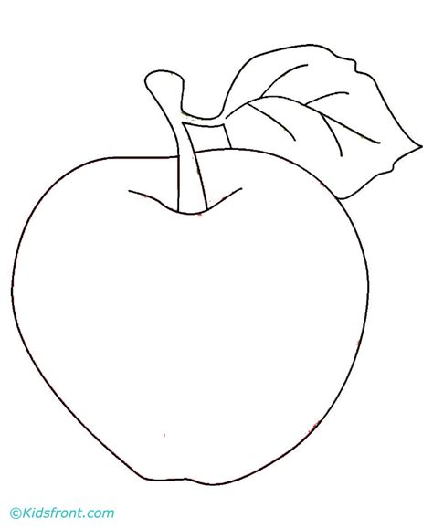 coloring book not apple apple pictures to color