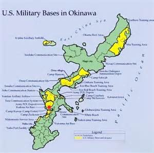 map of okinawa bases new us base in