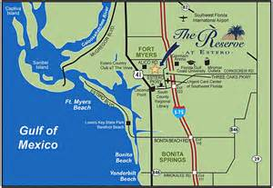 estero florida map quotes