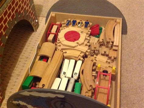 brio play table and train set wooden play table with storage and wooden train set brio