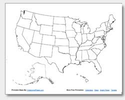 blank map us states capitals printable united states maps outline and capitals