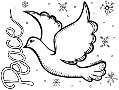 peace dove coloring sheet best peace dove peace and