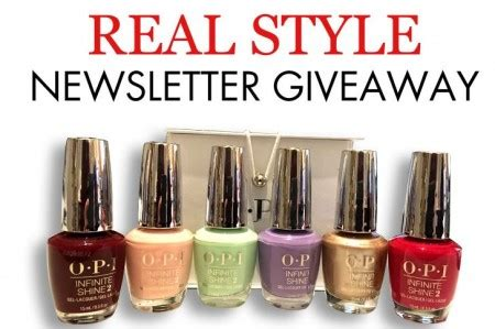 Real Free Giveaways - free opi nail polish giveaway free stuff finder canada