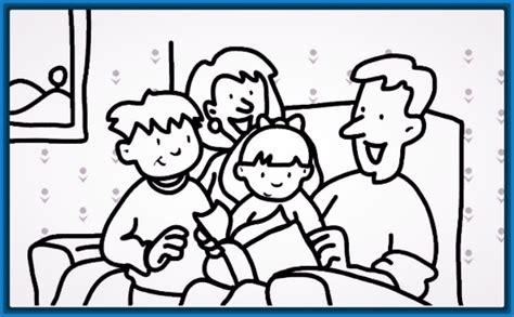 imagenes de la familia para imprimir dibujos faciles para colorear de la familia archivos