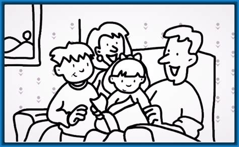 imagenes de la familia para colorear e imprimir dibujos faciles para colorear de la familia archivos