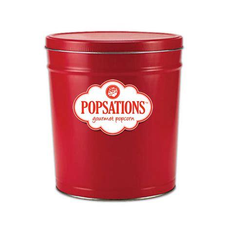 Decorative Popcorn Tins by Gourmet Popcorn Decorative Tin Popcorn Gifts