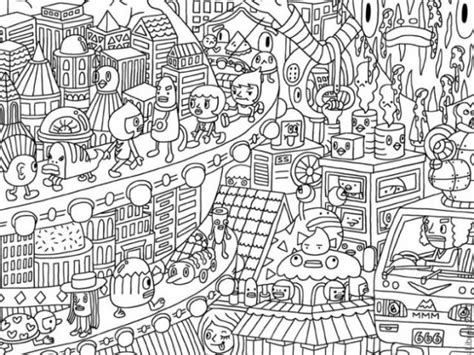 get this free doodle coloring pages for adults cfw43