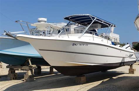 used cobia boats nj 2003 used cobia 312 sport cabin cruiser boat for sale