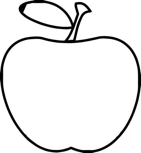 apple computer coloring pages teacher apple apple simple coloring page wecoloringpage
