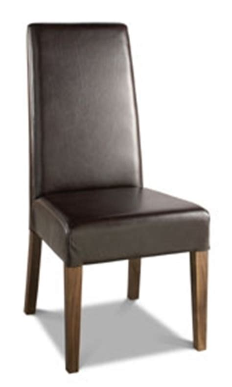 High Back Brown Leather Dining Chairs by Dining Chairs Tokyo Leather High Back Dining Chairs B