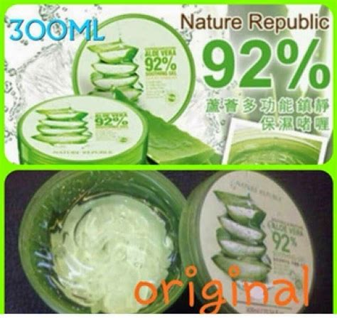 Harga Pasaran Nature Republic design nature republic aloevera 92 soothing gel