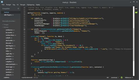 theme editor php not found themes for brackets by jacse