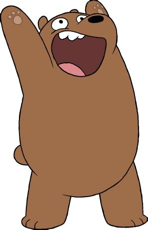Grizzly Webarebears we bare bears grizzly eric edelstein turner